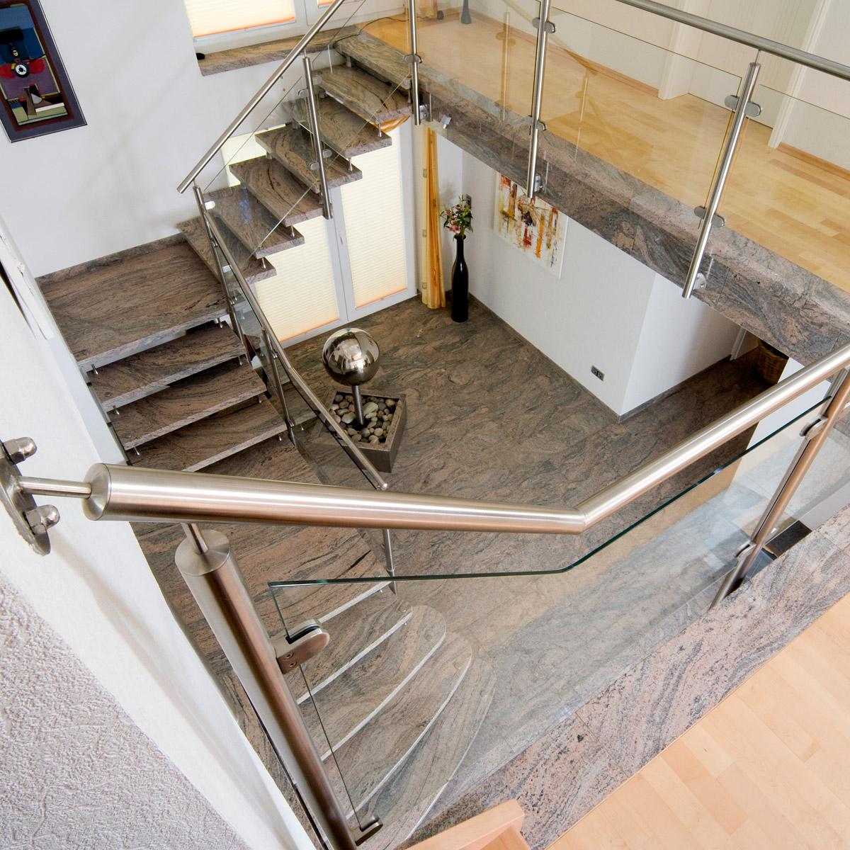 Treppe, Bad, Küche aus Naturstein (Granit und Marmor)
