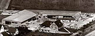 Firmengelände in Obersickte, 1975